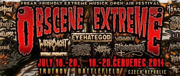 Obscene Extreme Festival 2014 !!